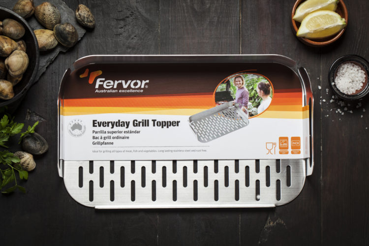 The Everyday Grill Topper is ideal for grilling seafood or anything that's small and may fall through the cracks between the grill. The Everyday Tongs make simple work of turning the seafood over once it's ready and the Everyday Roasting Dish allows you to go straight from the grill to the table with no fuss or muss!