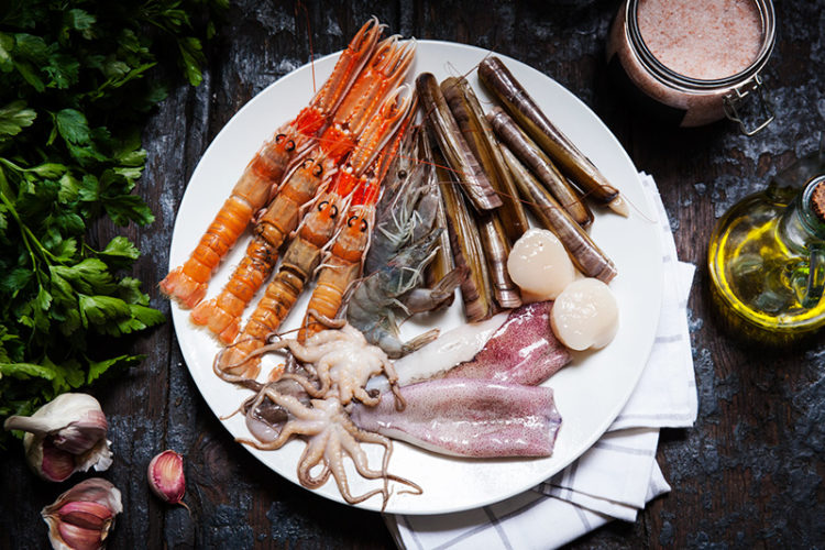 This easy to make Spanish-style seafood platter will have your guests begging for more. Be sure to visit your nearest fish monger to ensure that the seafood and fish you'll be purchasing is the highest in quality and freshest you can find.